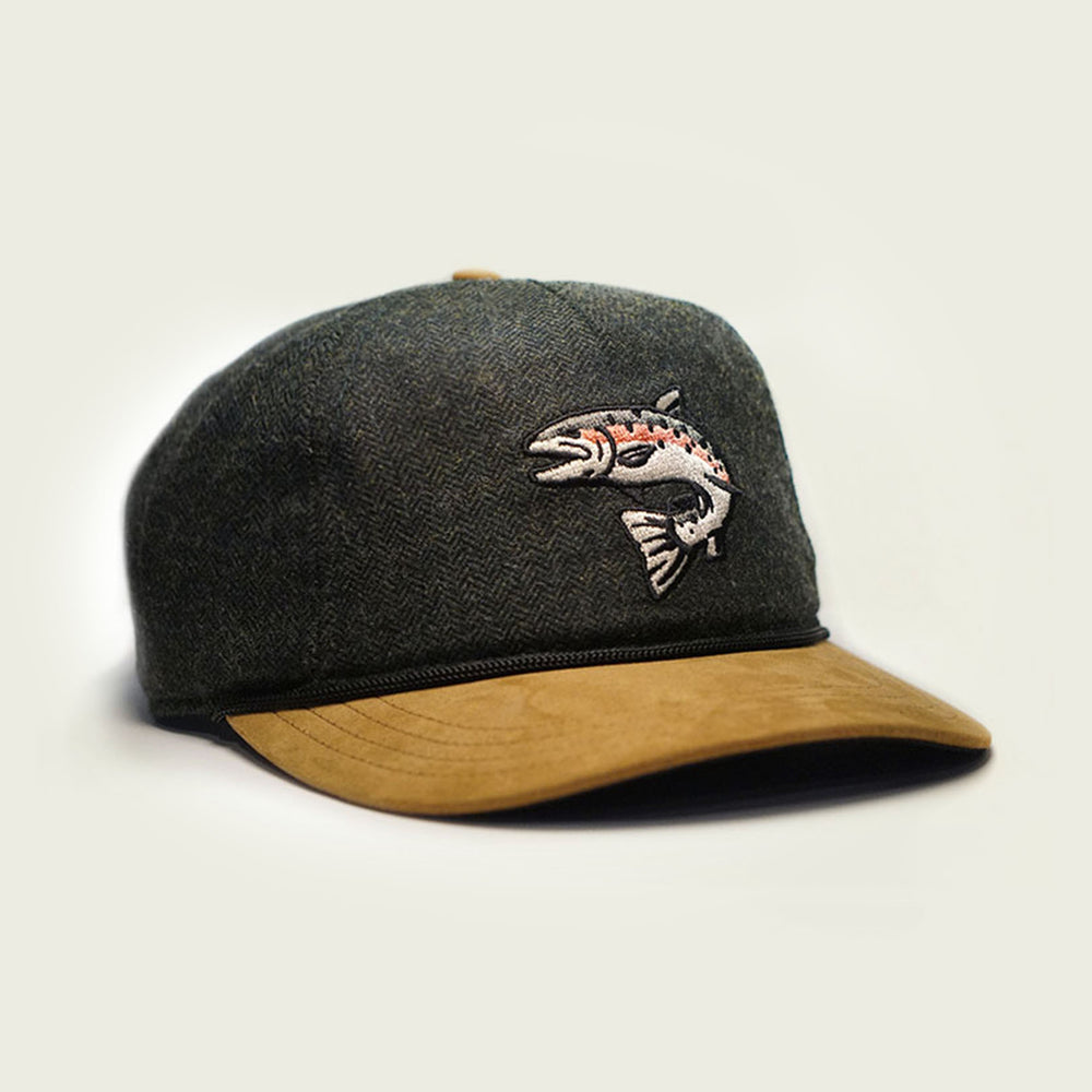Jumping Rainbow Trout Hat