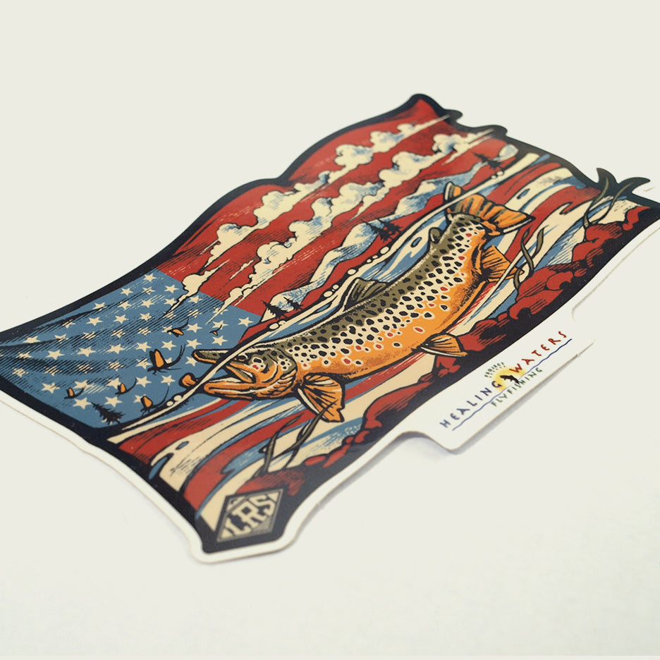 PHWFF Decal | Brown Trout