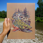 Brook Trout Waters Print