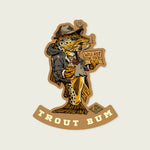 Trout Bum Decal