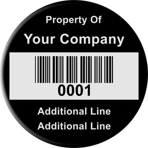 anodized aluminum labels,aluminum labels,asset tags,asset labels,anodized aluminum tags,barcode labels,custom labels,metal labels,inventory labels,laser etched labels,engraved tags,engraved labels,engraved asset tags