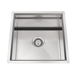 CUVI - CITY - 16 Gauge Single Bowl Stainless Steel Kitchen Sink System - PEARL Canada