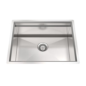CUVI - METRO - 16 Gauge Single Bowl Stainless Steel Kitchen Sink System - PEARL Canada