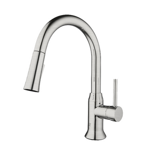 MASA II Brushed Nickel Kitchen Faucet - PEARL Canada
