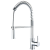 SPRING SPOUT II Chrome Kitchen Faucet - PEARL Canada