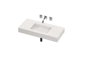 Armony 1 Single Bowl One-piece Vanity Sink - PEARL Canada