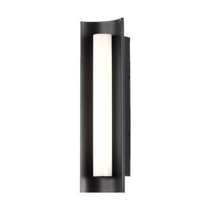 Chloe Matte Black Wall Sconce LED Light - PEARL Canada