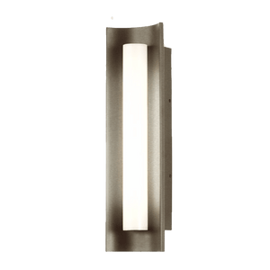 Chloe Brushed Nickel Wall Sconce LED Light - PEARL Canada