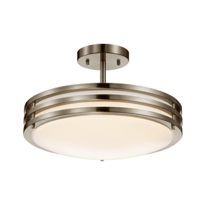 Duncan-L Brushed Nickel Ceiling LED Light