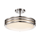 Duncan-L Chrome Ceiling LED Light - PEARL Canada