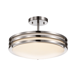 Duncan-L Chrome Ceiling LED Light