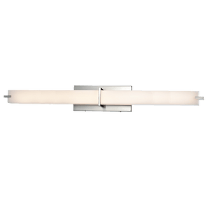 "Elaine 37"" Chrome Vanity LED Light - PEARL Canada"