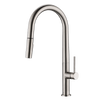 LENNOX Brushed Nickel Kitchen Faucet - PEARL Canada