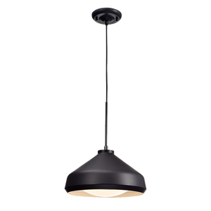 Mina Matte Black Pendant LED Light