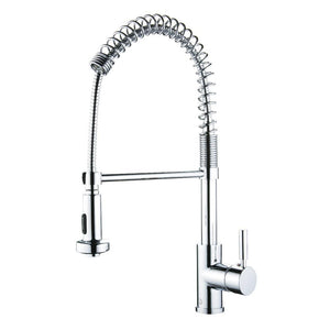 SPRING SPOUT Chrome Kitchen Faucet - PEARL Canada