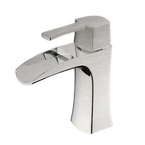 TAKKA Brushed Nickel Bathroom Faucet - PEARL Canada