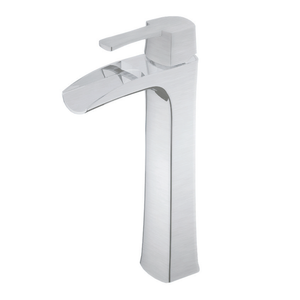 TAKKA - H Brushed Nickel Bathroom Faucet