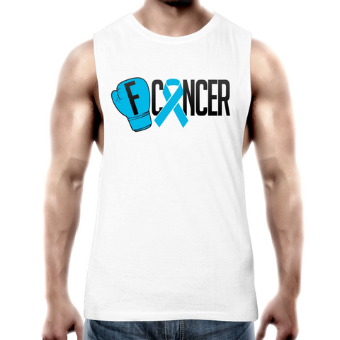 Prostate Cancer Mens Tank Top Tee