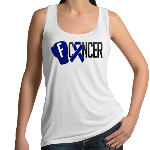 Bowel Cancer Women's Singlet