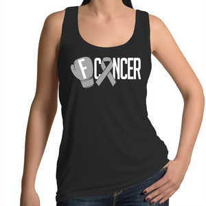 Brain Cancer Womens Singlet