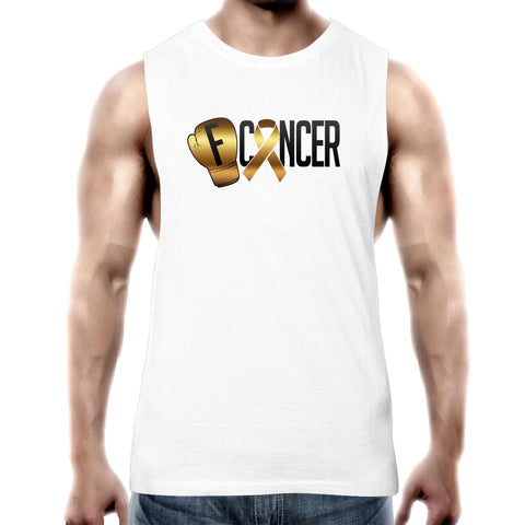 Childhood Cancer Mens Tank Top Tee