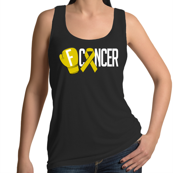 Sarcoma Cancer Womens Singlet