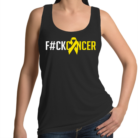 F#CK Sarcoma Cancer Women's Singlet