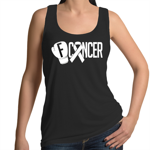 Lung Cancer Womens Singlet