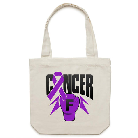 Pancreatic Cancer Canvas Tote Bag