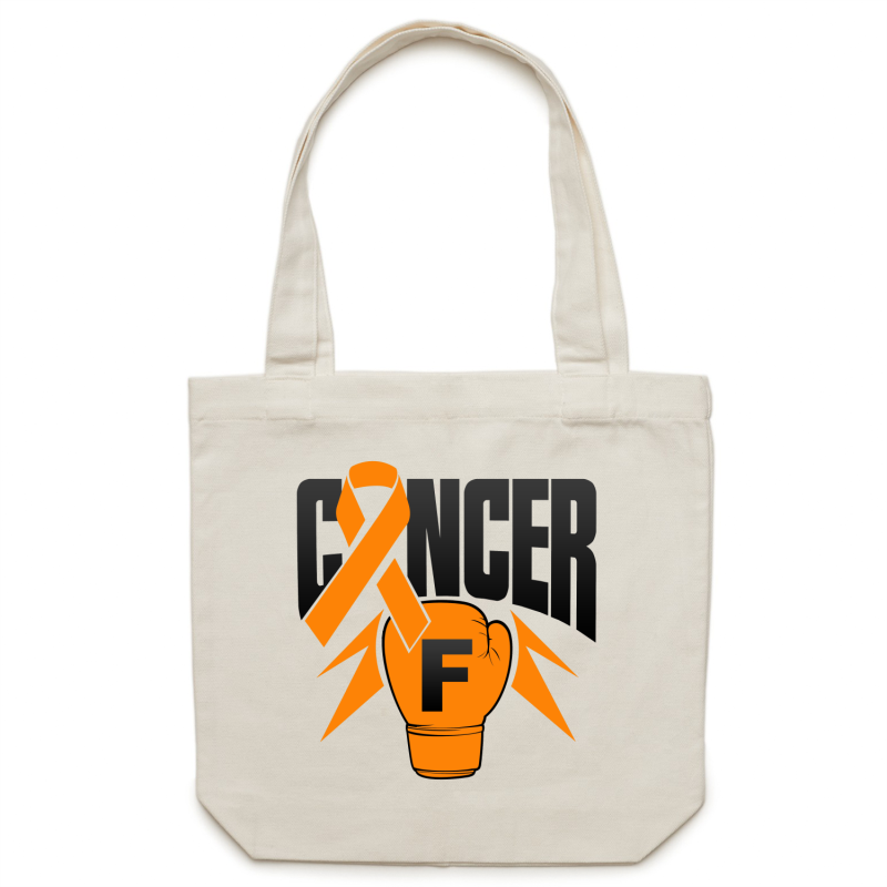 Leukaemia Canvas Tote Bag