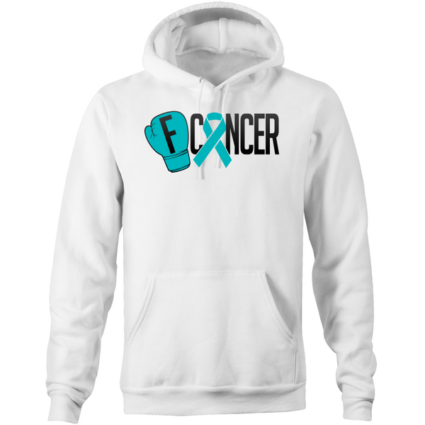Ovarian Cancer Pocket Hoodie Sweatshirt