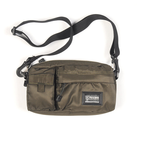Tas Sling Bag Double Pocket