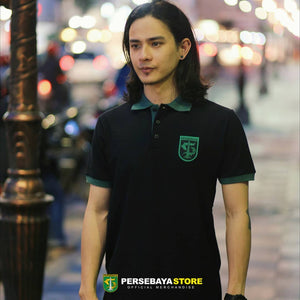 Polo Shirt Basic Kombinasi Monochrome