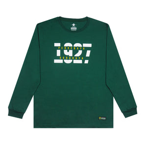 T-Shirt 1927 Long Sleeve - Hijau