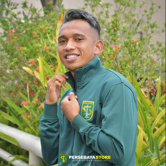 Jaket Tracktop Green Force