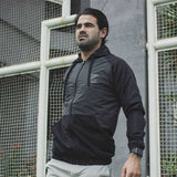 Jaket Basic Black on Black Logo