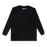 T-shirt Simple KHGK Long Sleeve - Black