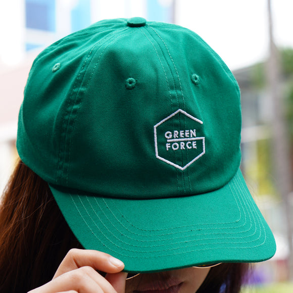 Topi Polo Cap Green Force Glow In - Hijau