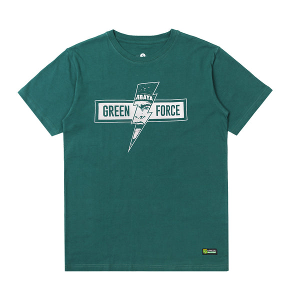 T-shirt Green Force Lightning