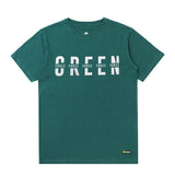 T-Shirt Green Force Simple Typo