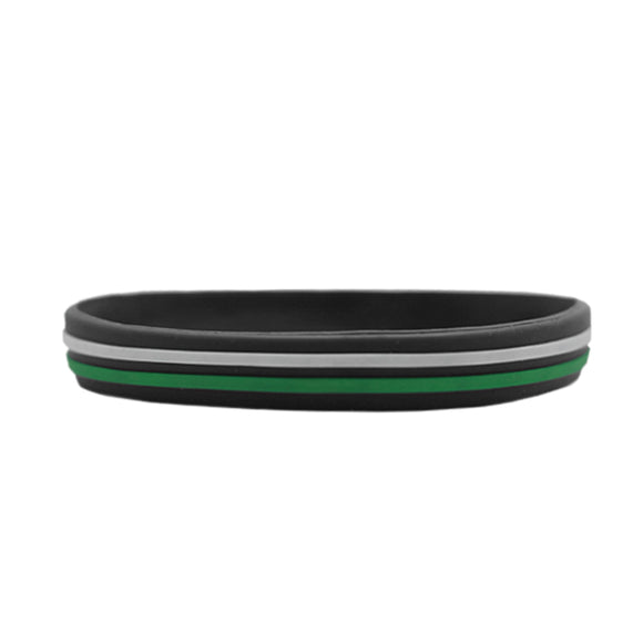 Gelang Persebaya Two Strip - Hitam