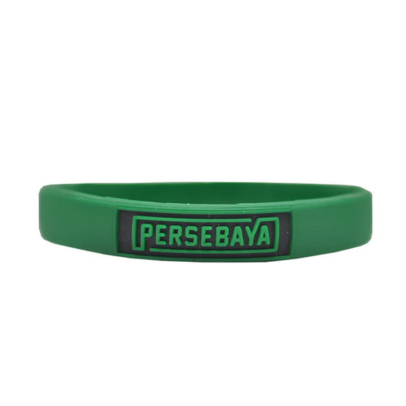 Gelang Persebaya Simple Block - Hijau