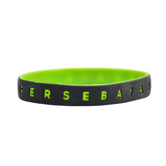 Gelang Two Tone - Black/Green