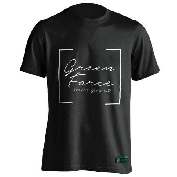 T-shirt Green Force Milenial - Black