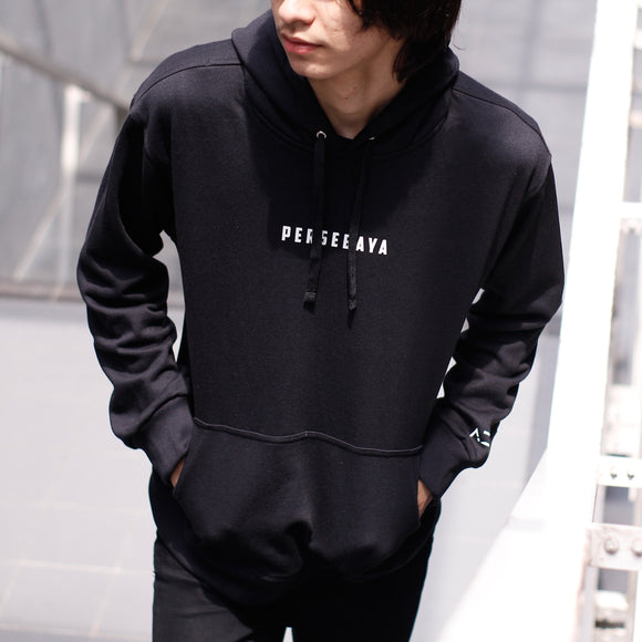 Jaket Hoodie Simple Black