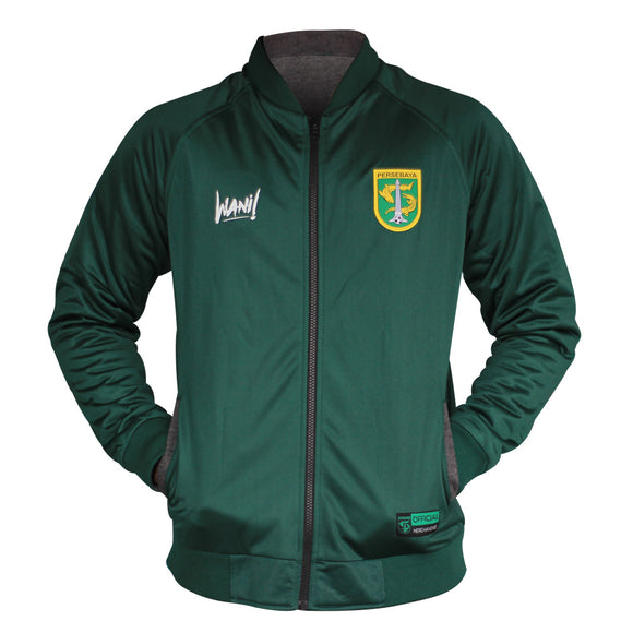 Jaket Reversible Green / Grey