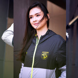 Jaket Sport Two Color - Black/Grey