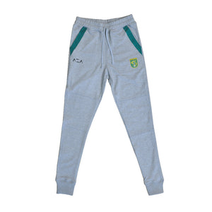 Celana Jogger Pants Basic Patch - Grey
