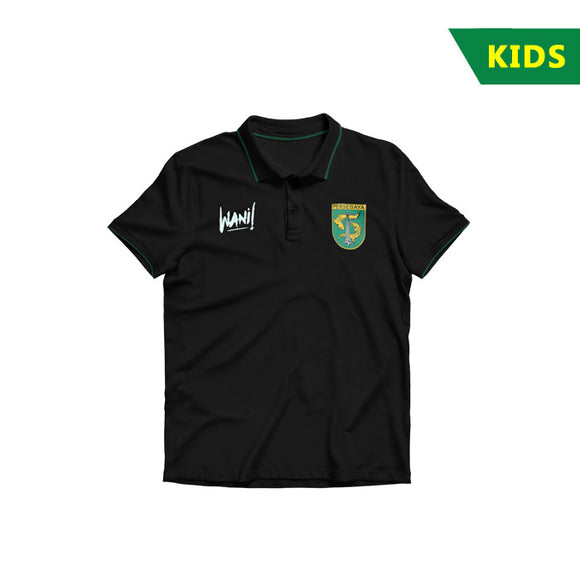 Polo Shirt 2k18 Black - Kids