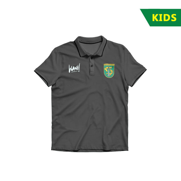 Polo Shirt 2k18 Grey - Kids